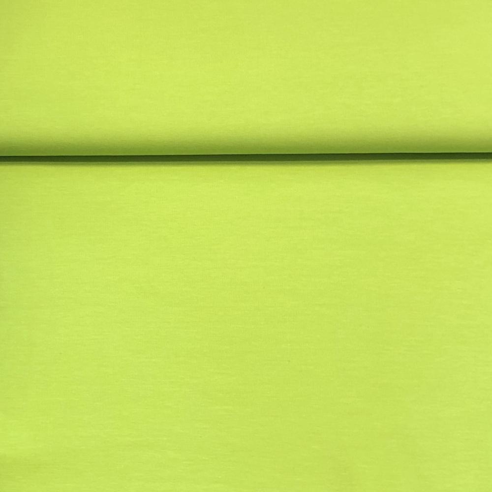 c93dc72c Jersey ensfarget - Limegrønn - www.stoffbutikken.no